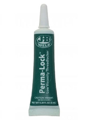 JB Weld Perma-Lock Penetrating Threadlocker Low Viscosity Green 6ml 29006