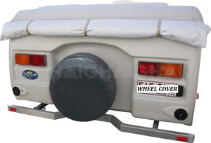 "Caravan Spare Wheel Cover suits RV Motorhome 13"" Tyres up to 59cm Diameter"