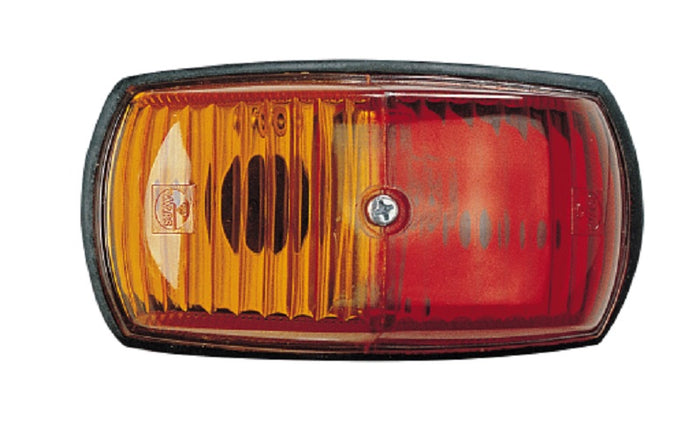 Narva Side Marker Clearance Light Red/Amber Incandescent Caravan Camper Single