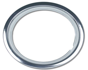 "Wheel Trim Ring 13"" Set of 4 Chrome Plated Metal Band Dress Ring suit Steel Rims"