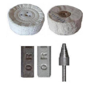 Metal Polishing Kit Suits Aluminium Brass Steel Stainless, Copper & Most Alloys