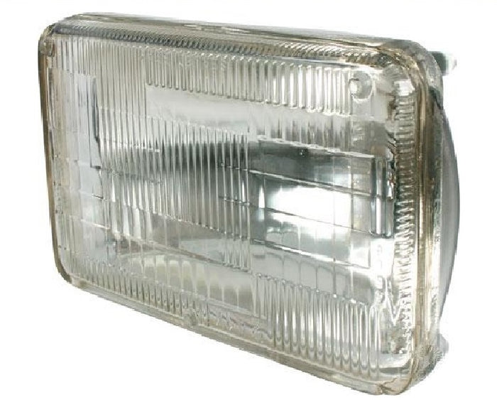 Semi Sealed Beam 100 x 165mm High/Low Beam 3 Pin Push On Suitable for H4 Bulb