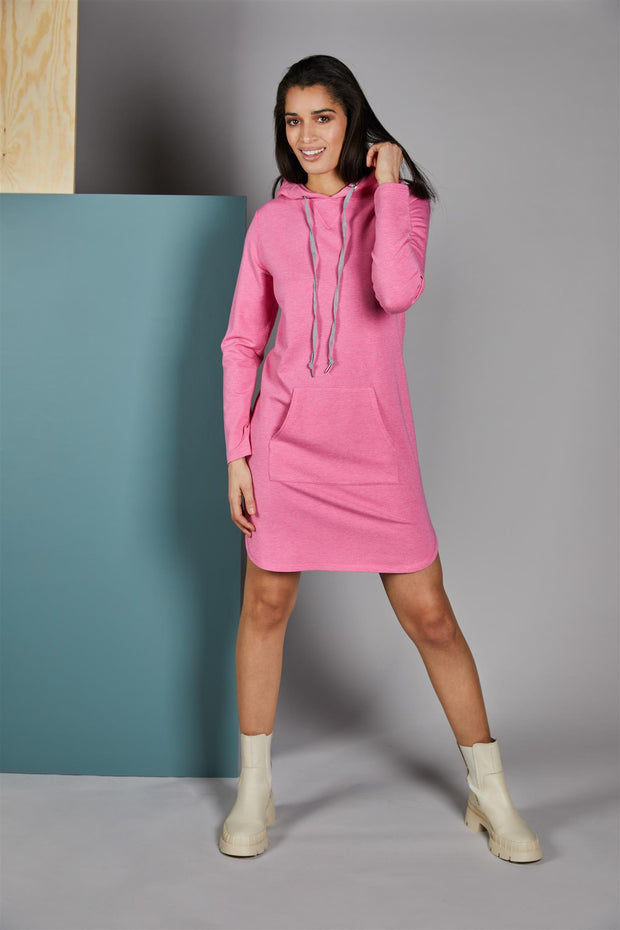 Pink Whitney Hood dress