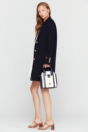 Navy Belinda Coat
