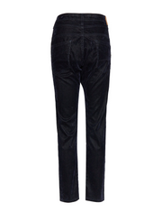 Longcut Denim Velour