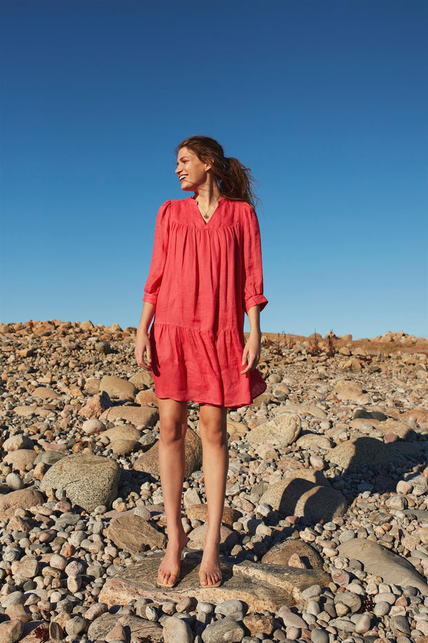 Watermelon Filippa Ramie dress