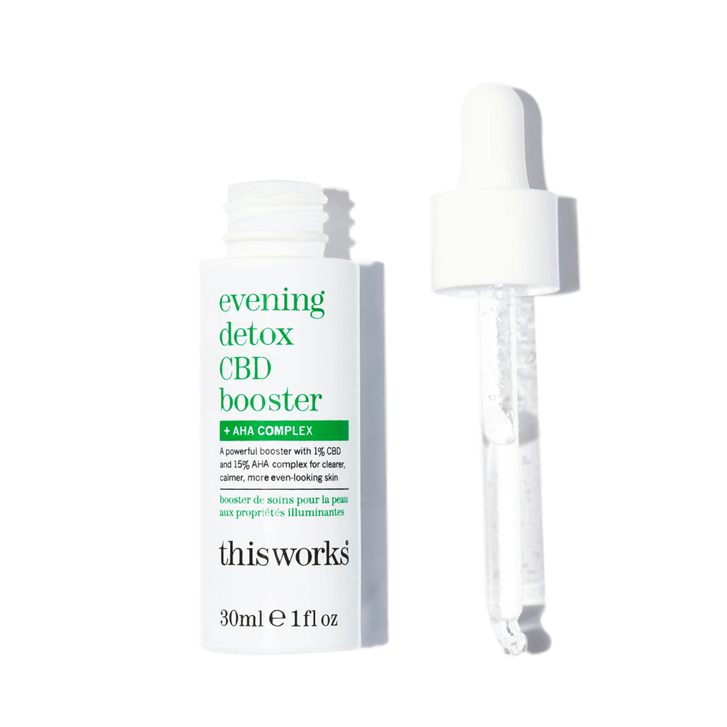 evening detox CBD booster + AHA Complex