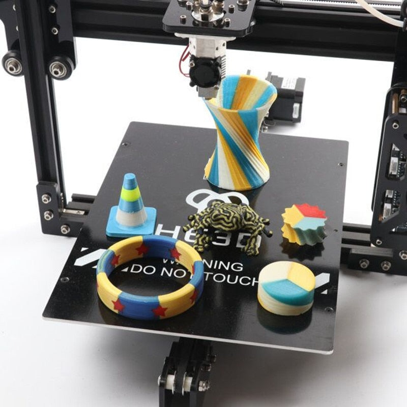HE3D EI3 Triple Extruder 3D Printer DIY Kit With Optional Scanner