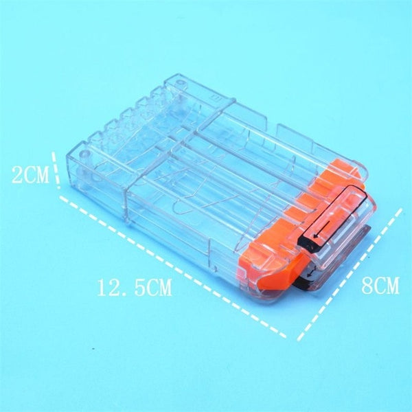 18 Round Transparent Stright Magazine Knock-off