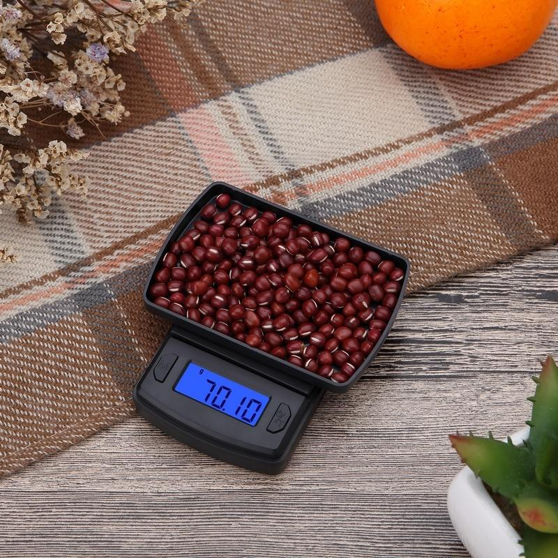 1PC Digital Scale 100/200/300/500g 0.01g Precise LCD Display Pocket Scale Gram Weight Kitchen Food Jewelry Drug Scales