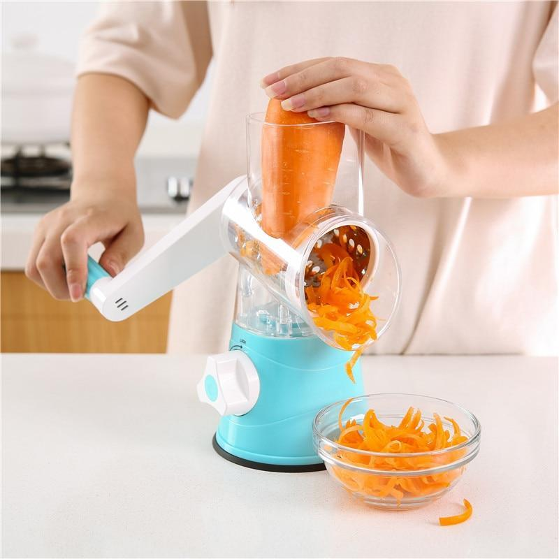 3 Styles Multifunction Kitchen Slicer Potato Carrot Grater  Cutter Chopper Shredders Home Gadgets Accessories
