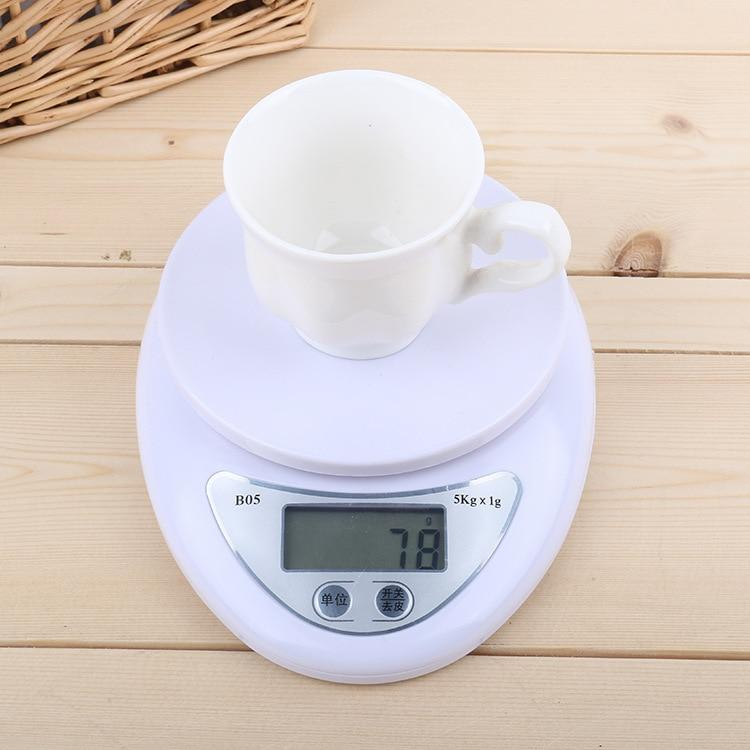 5kg/1g 1kg/0.1g Portable Digital Scale LED Electronic Scales Postal Food Measuring Weight Kitchen LED Electronic Scales