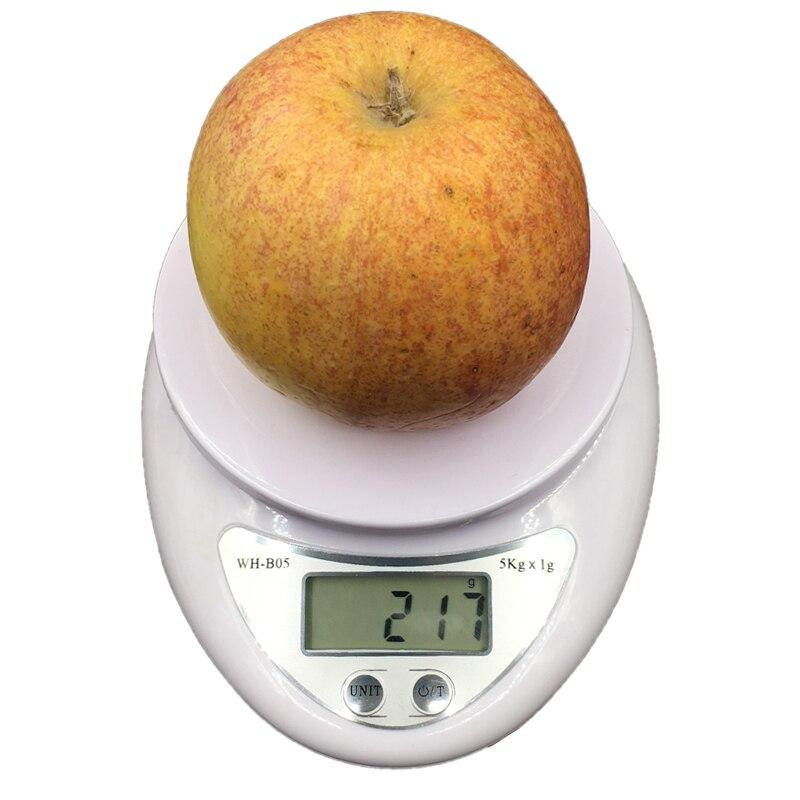 5kg/1g Portable Digital Scale LED Electronic Scales Postal Food Balance Measuring Weight Kitchen LED Electronic Scales