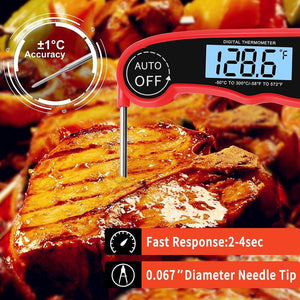 Food Thermometer Digital Kitchen Thermometer Meat Water Milk Cooking Probe BBQ Electronic Oven Waterproof Kitchen Tools