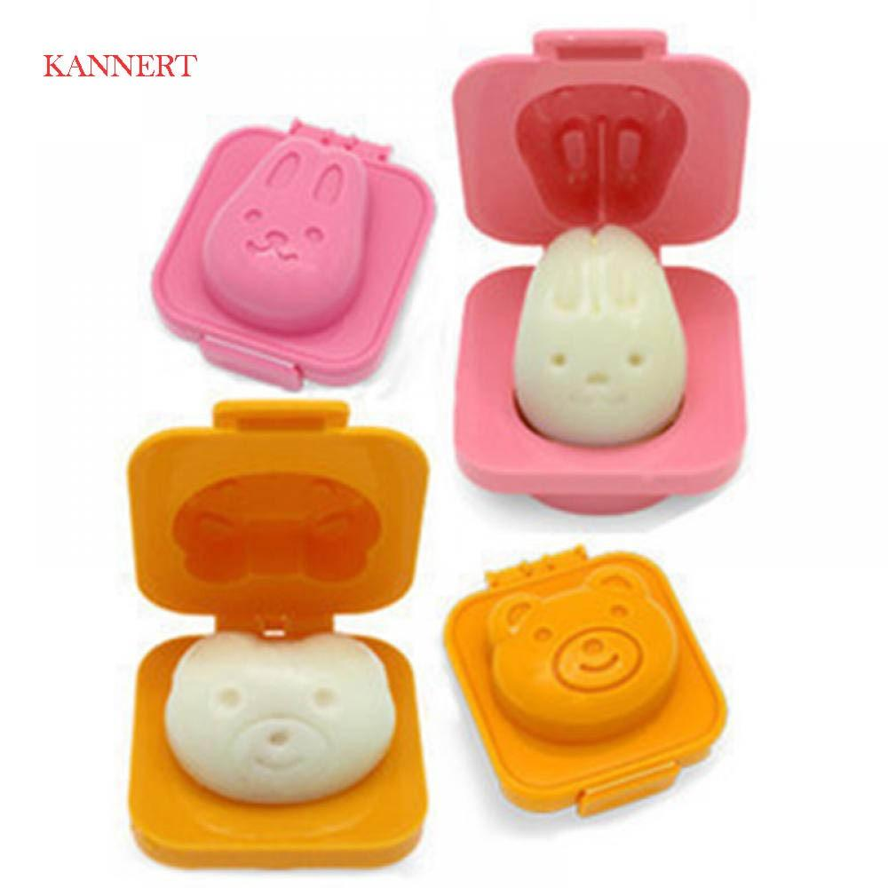 Egg Mold Cute Cartoon 3D Egg Ring Mould Bento Maker Cutter Decorating Egg Tool