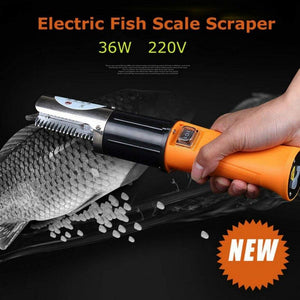 Fish Scaler Electric Home Kitchen Garden Cooking Tool Clean Automatic Scraping Scale Kill Fish with Knife Machine Multipurpose