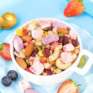 Freeze Dried Fruits Snacks Large Size 420g /bag Cereal Oatmeal Yogurt Breakfast Natural Organically Processes Bake Cake Decorate