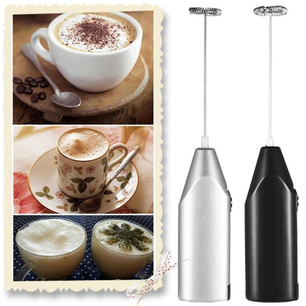 Mini Electric Handheld Milk Frother Frothers Drink Foamer Whisk Mixer Coffee Egg Beater Cream Stiring Machine Mixer Stirrer