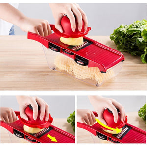 Multi-function  slicer with  cutter manual kitchen accessories tool potato peeler carrot grinder cheese grater
