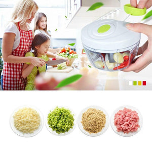 Multifunction Hand Pull Food Chopper  Fruit Slicer Meat Grinder Nuts Onions Chopper  Mincer Blender Mixer Kitchen Tools