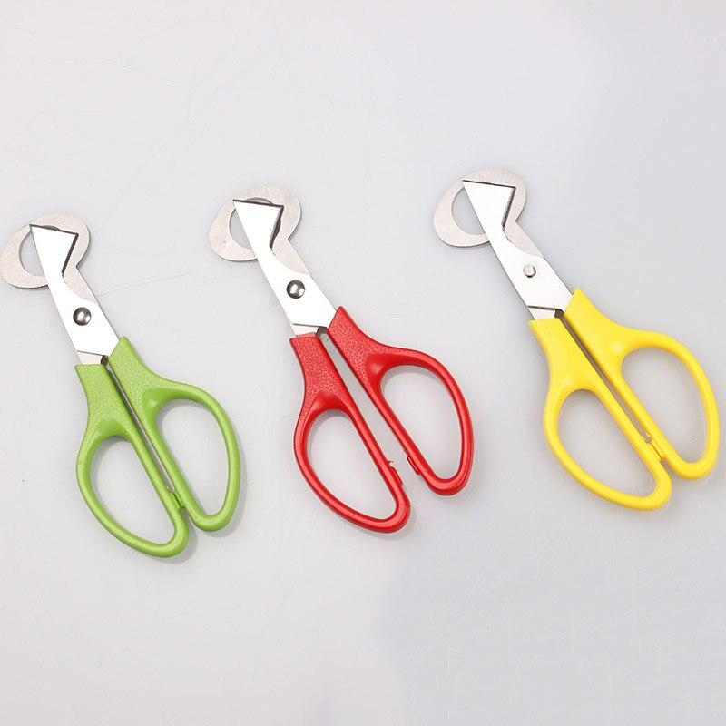 Quail Egg Scissor Bird Cutter Opener Kitchen Tool Clipper Sale shells Scissors Cracker Cigar Stainless Steel Blade Househ