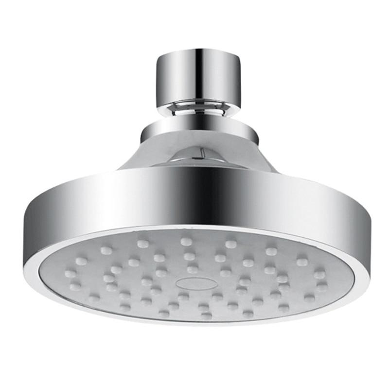 Shower Head High Pressure Air-Injection Rainfall Adjustable Fixed Showerheads Anti-Clog Rain Showerhead Chrome Shower Head