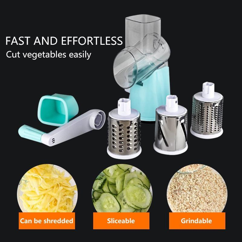 Cutter Round Slicer Kitchen Accessories Multifunctional Circular Slicer Potato Cheese Fruit  Kitchen Gadgets