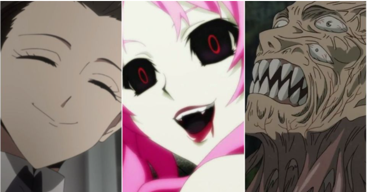 8 Scary Characters In Horror Anime