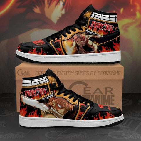 Natsu Dragneel Sneakers Fairy Tail Anime Shoes MN11