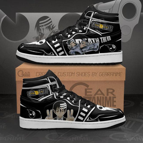 Death The Kid Sneakers Soul Eater Custom Anime Shoes MN11