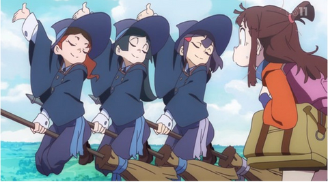 Little Witch Academia Top 25 Fantasy Anime Series