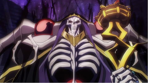 Overlord could be a prime dark fantasy work