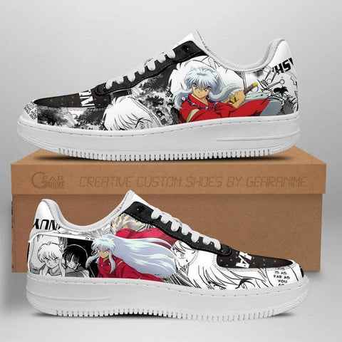Inuyasha Air Sneakers Custom Anime Shoes For Fan