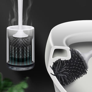 Oswei™ Nordic Inspired ECOCO TPR Silicone Toilet Brush Set