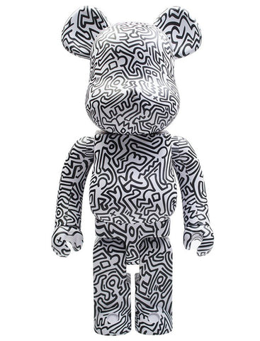 MEDICOM TOY, BE@RBRICK Keith Haring #4 1000%.