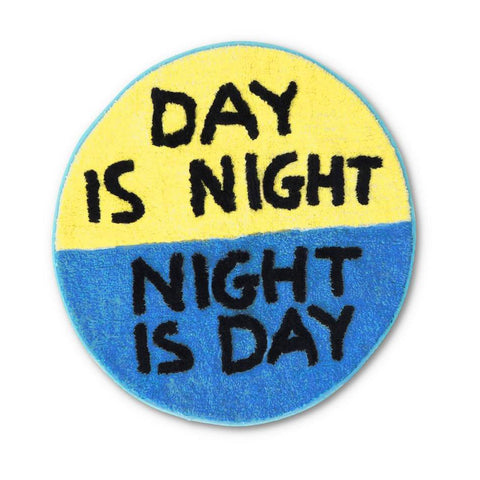 David Shrigley, Day is Night Floor Mat.