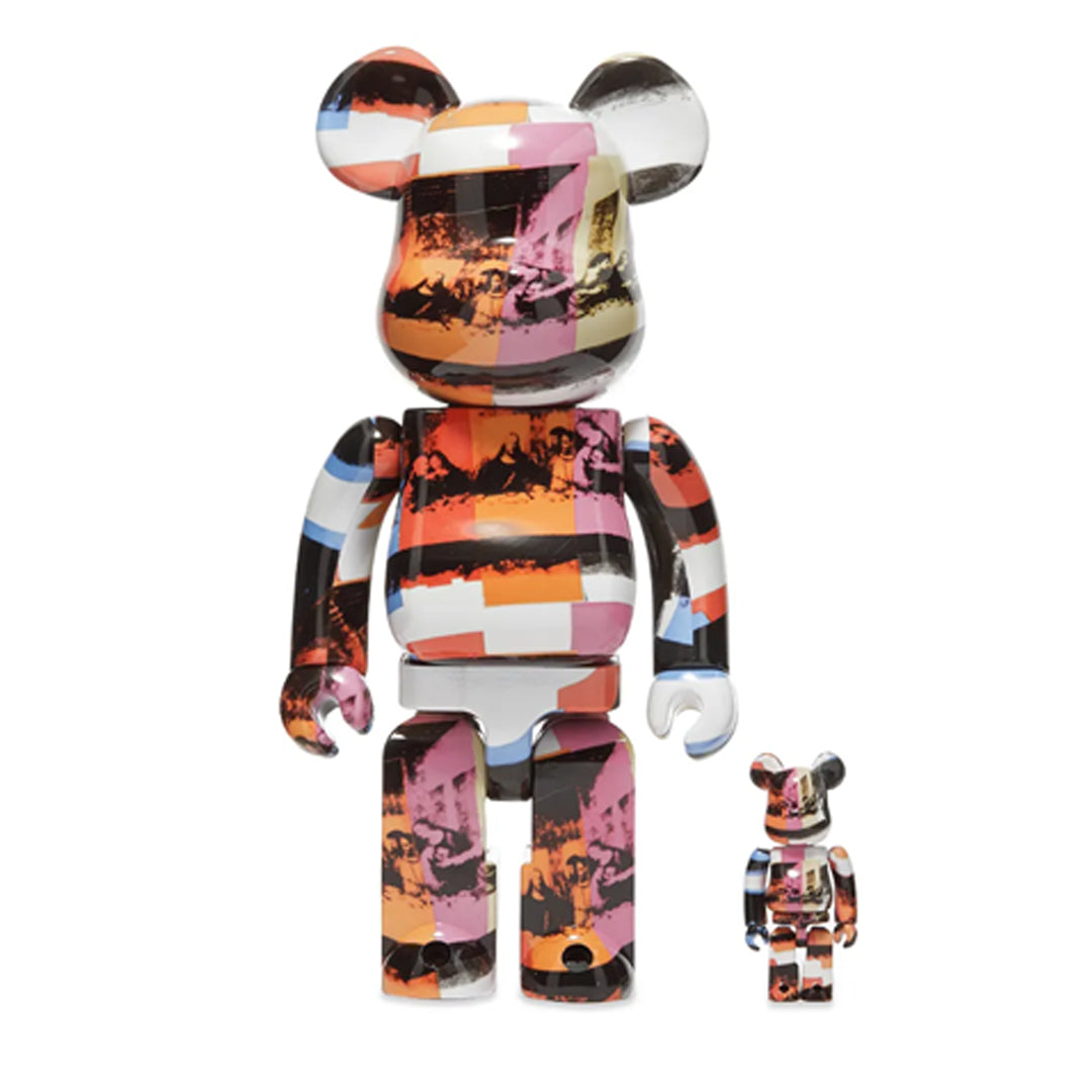 MEDICOM TOY, BE@RBRICK ANDY WARHOL The Last Supper 100% & 400% SET.