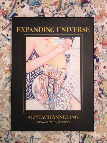 Expanding Universe, Jigsaw 500-Pieces Puzzle by Alphachanneling.