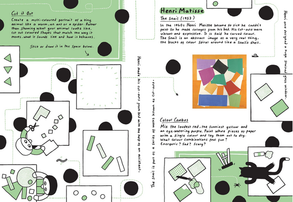 Modern Art Activity Book by James Lambert & Sharna Jackson.