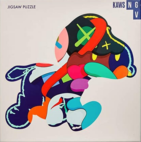 Stay Steady, Jigsaw 1000-Piece Puzzle, 2019 by KAWS.