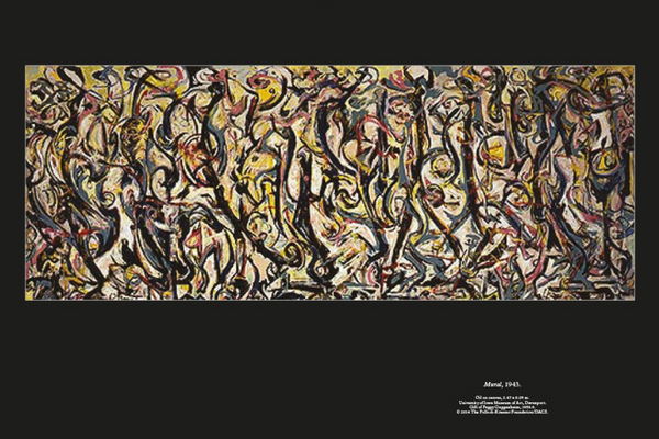 This is Pollock by Catherine Ingram.