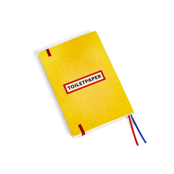 TOILETPAPER, Toothpaste Notebook.