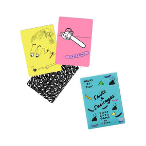David Shrigley, Sh*ts & Sausages Snap Card Game.