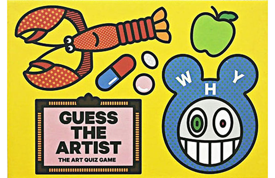 Guess the Artist: The Art Quiz Game by Craig Redman & Karl Maier.