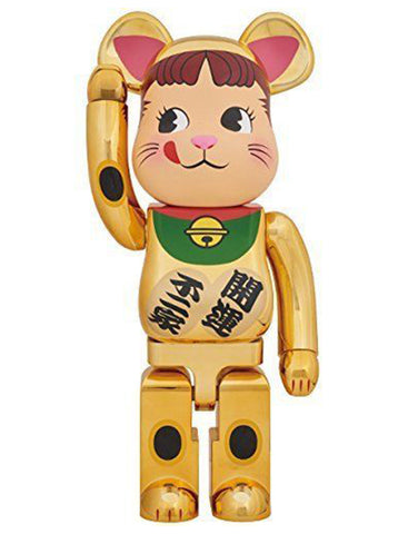 MEDICOM TOY, BE@RBRICK Lucky Cat Gold 1000%.