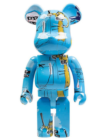 MEDICOM TOY, BE@RBRICK JEAN MICHEL BASQUIAT #4 1000%.