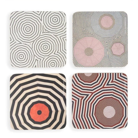 Louise Bourgeois, Corkboard Coaster Set.
