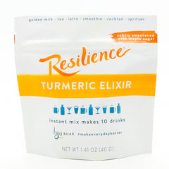 Resilience Turmeric Elixir 10 Drink Pouch - Subtly Sweetened w/ Maple