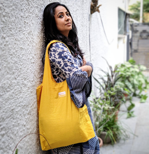Turmeric Dyed Tote Bags