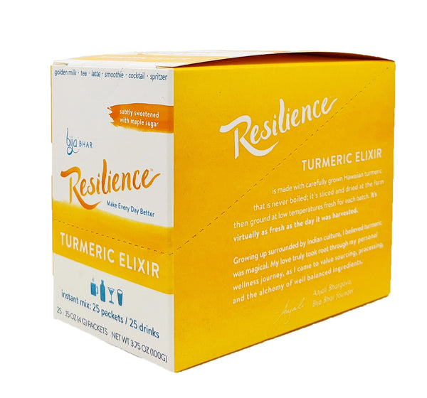Resilience Turmeric Elixir Single Serve Sachets